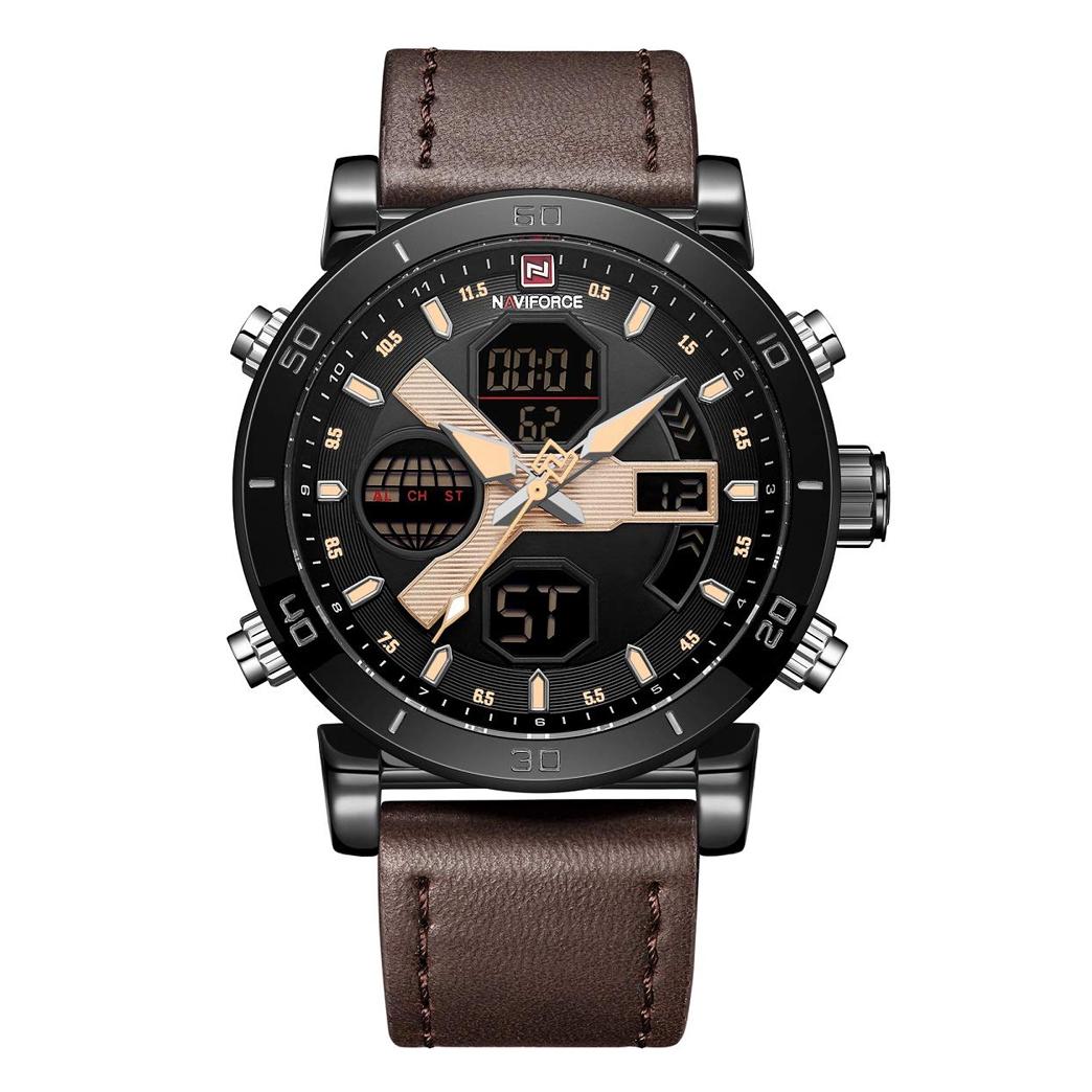 ساعت مچی دیجیتال مردانه نیوی فورس کد NF9132M - GHA-ME