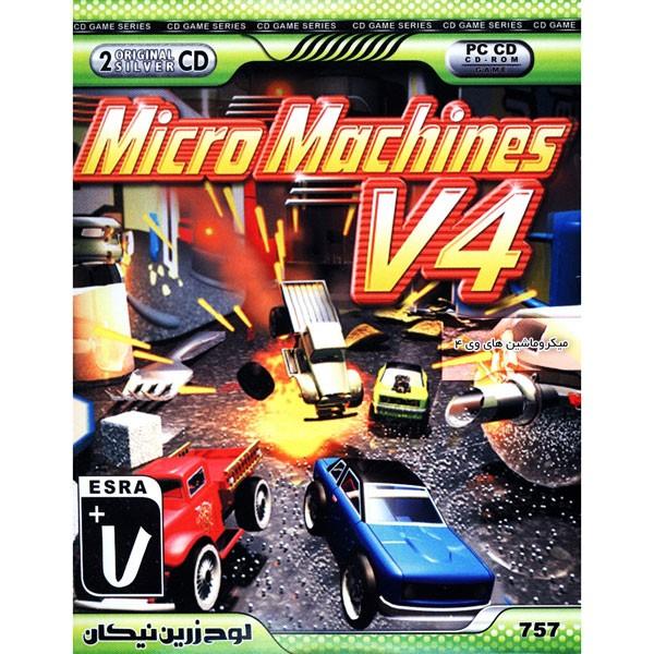 بازی Micro Machines V4 مخصوص PC