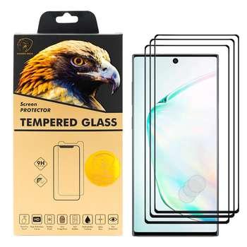 محافظ صفحه نمایش گلدن ایگل مدل DFC-X3 مناسب برای گوشی موبایل سامسونگ Galaxy Note 10 بسته سه عددی