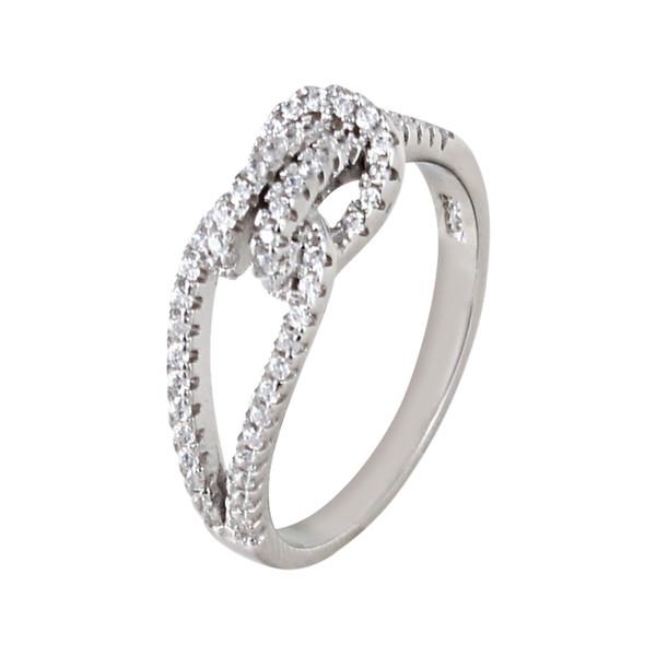 انگشتر نقره زنانه مد و کلاس کد 1000498-7