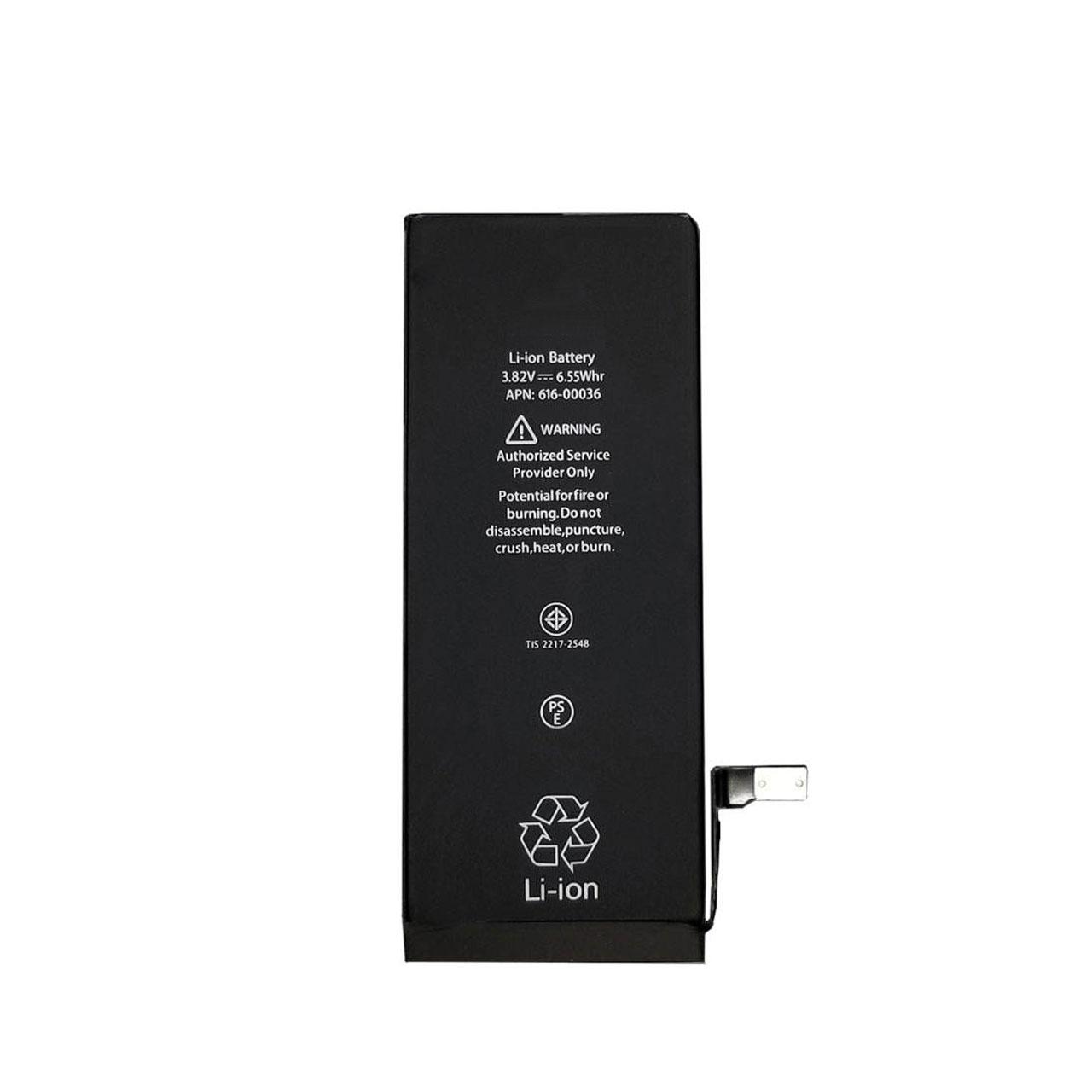 باتري موبايل مدل BTR ظرفیت 1810 میلی آمپر ساعت مناسب براي گوشي موبايل اپل iPhone 6