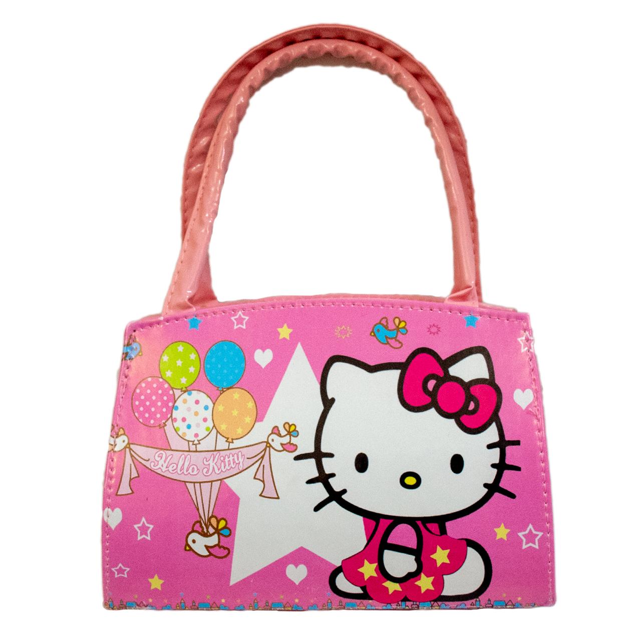 کیف دستی دخترانه طرح کیتی کد B07