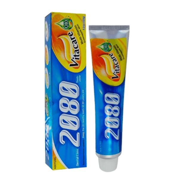 خرید                      خمیر دندان ۲۰۸۰ مدل vitacare حجم ۱۲۰ میلی لیتر