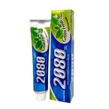 خمیر دندان 2080 مدل Green fresh حجم ۱۲۰ میلی لیتر