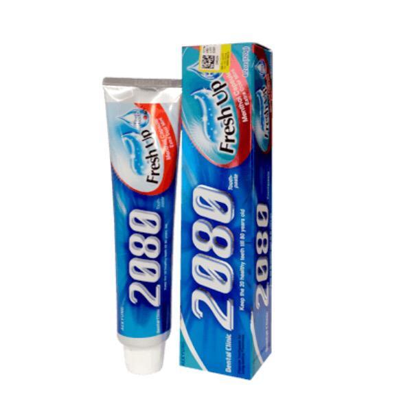خرید                      خمیر دندان 2080 مدل fresh up حجم 120 میلی لیتر