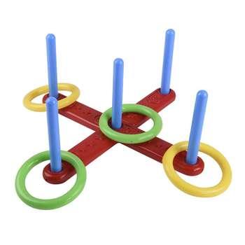 بازی آموزشی زوزو طرح پرتاب حلقه مدل Ring Throwing Game 4071