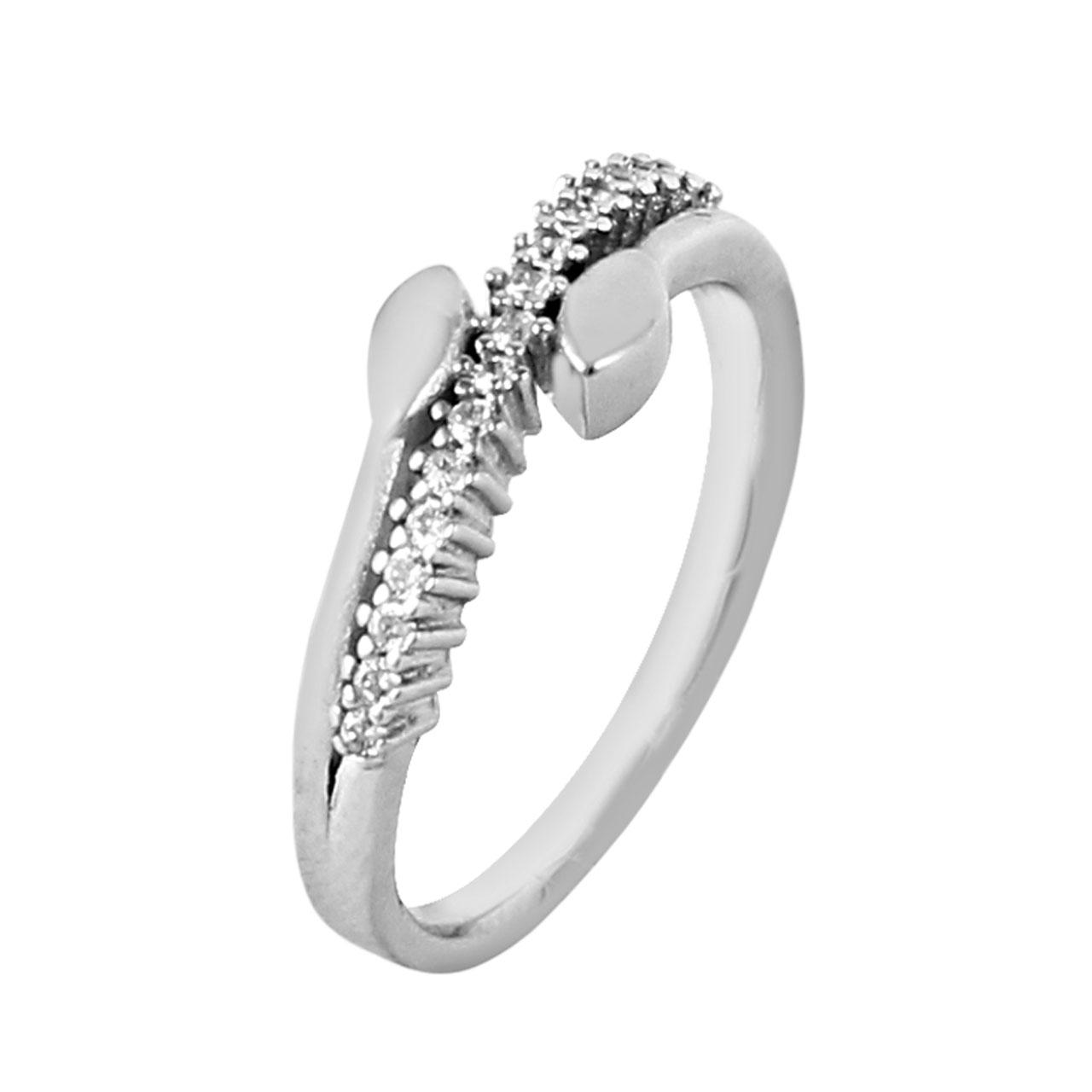 انگشتر نقره زنانه مد و کلاس کد 1000499-7
