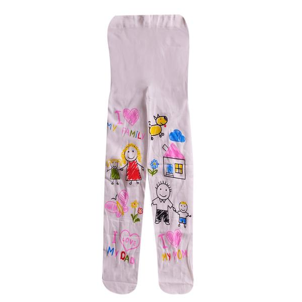 جوراب شلواری دخترانه مدل H-5221