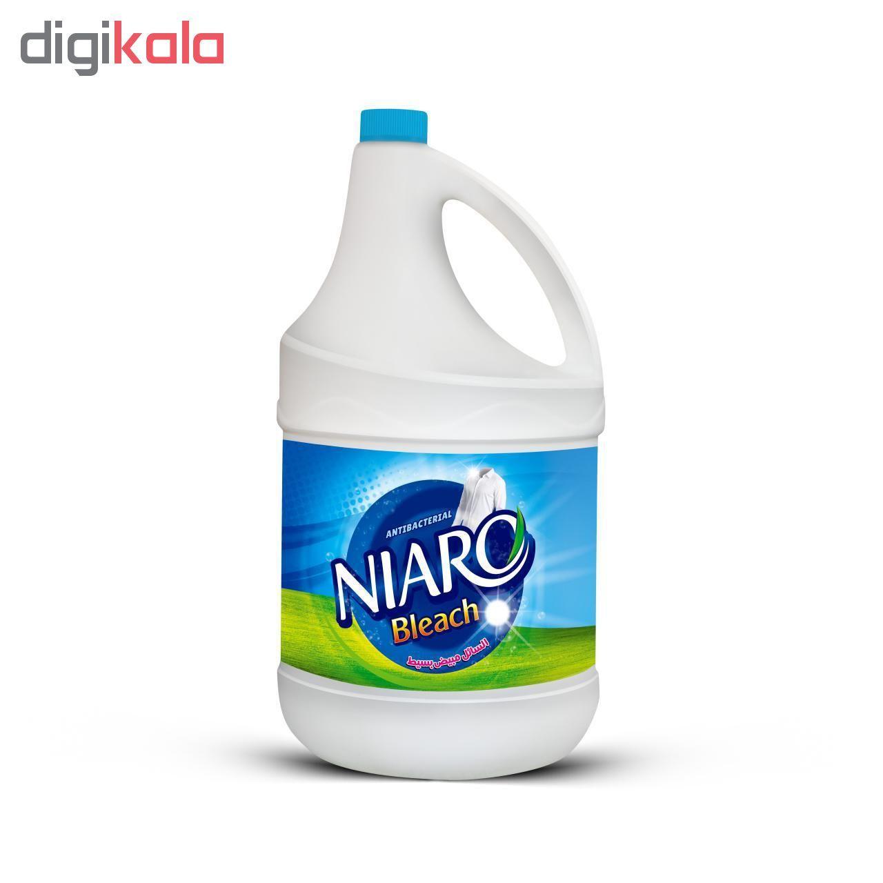 مایع سفید کننده سطوح نیارو مدل ساده حجم 4000 میلی لیتر main 1 1