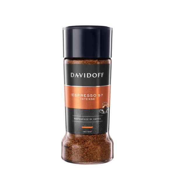 قهوه فوری دیویدف مدل اسپرسو 57 intense مقدار 100 گرم