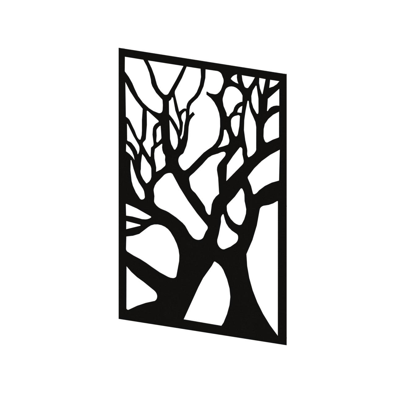 تایل دیواری طرح درخت کد 1933سایز 190*90 سانتی متر