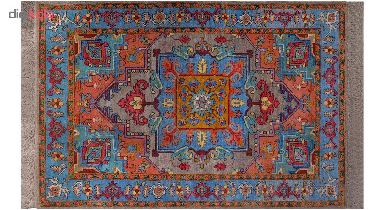 فرش دستبافت شش متری فرش هریس کد 101479