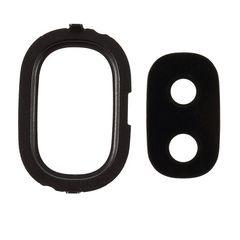 شیشه دوربین مدل SJ4 مناسب برای گوشی موبایل سامسونگ Galaxy J4 به همراه فریم