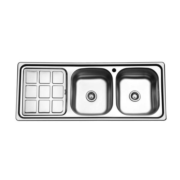 سینک ظرفشویی صدرا کد 121 توکار