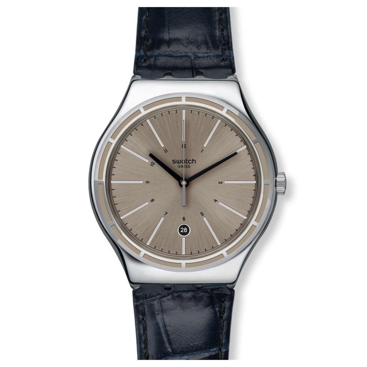 ساعت مچی عقربه ای مردانه سواچ مدل YWS415 34