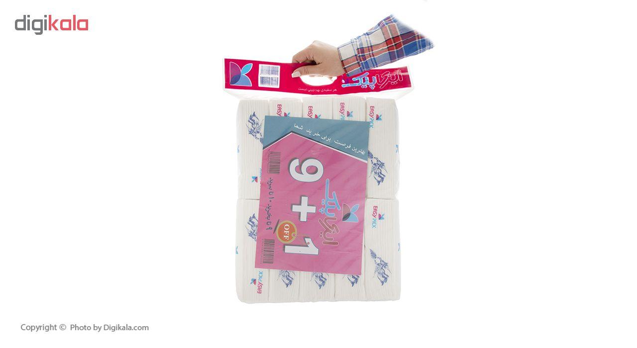 دستمال کاغذی 100 برگ ایزی پیک مدل King - بسته 10 عددی main 1 3