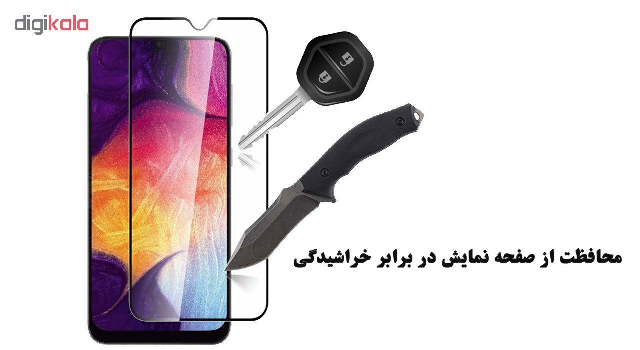 محافظ صفحه نمایش تراستکتور مدل GSS مناسب برای گوشی موبایل سامسونگ Galaxy A30s بسته 5 عددی main 1 4