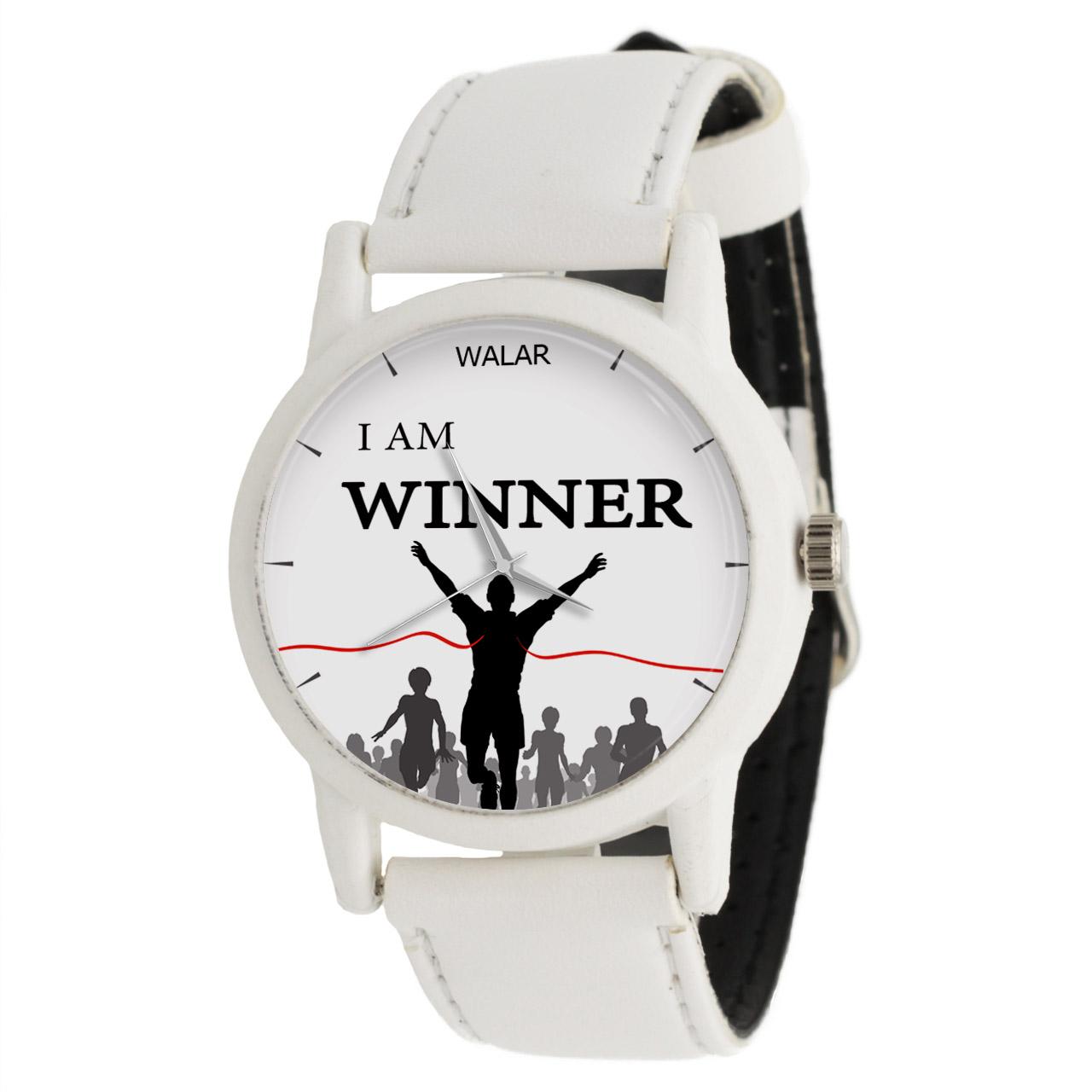 ساعت مچی عقربه ای والار طرح I Am Winner کد LF1591