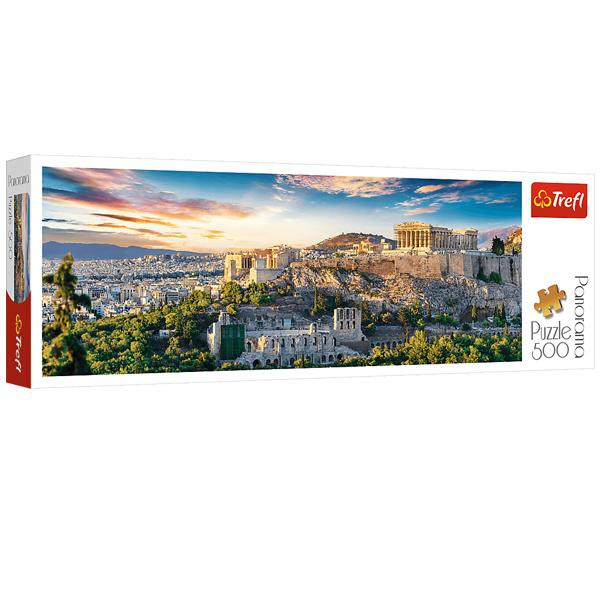 پازل 500 تکه ترفل مدل Acropolis Athens
