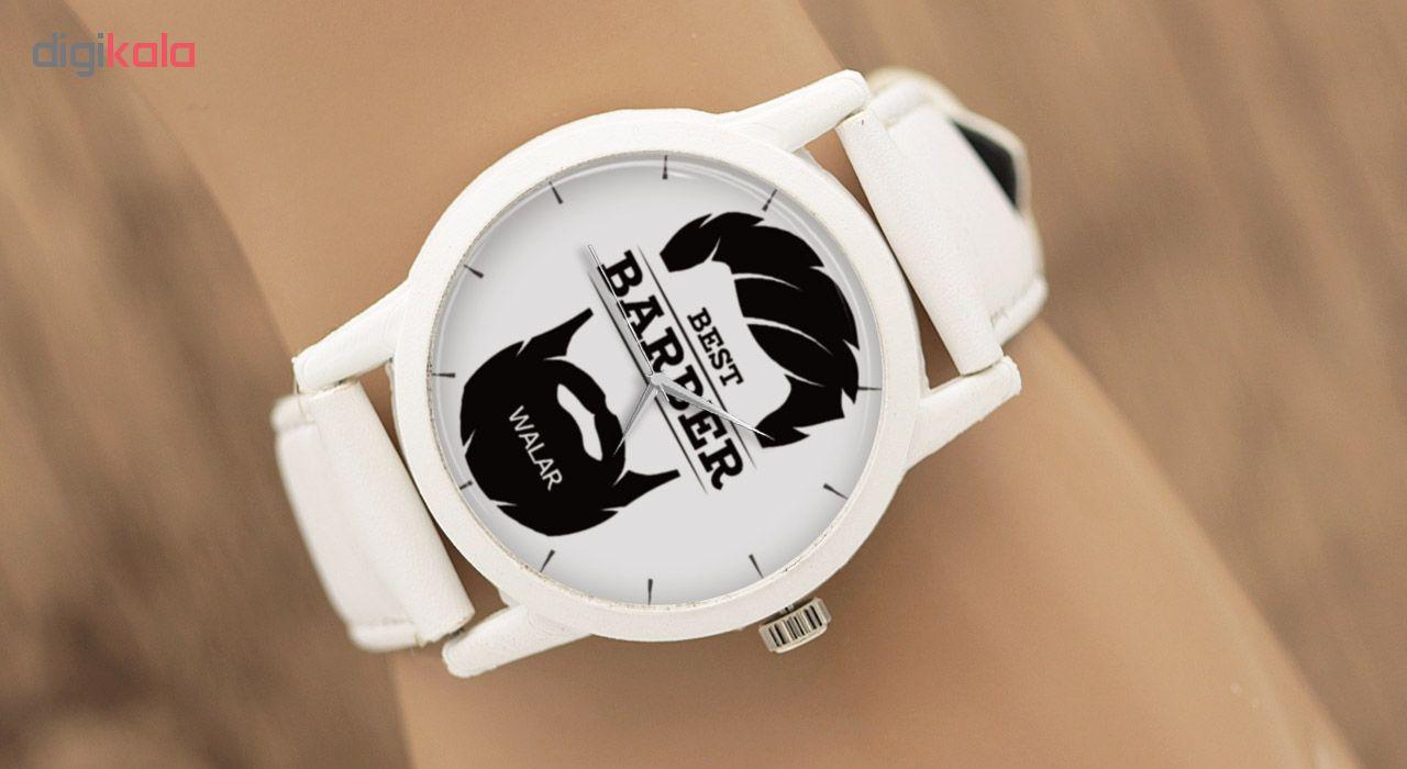 کد تخفیف                                      ساعت مچی عقربه ای مردانه والار طرح آرایشگر کد LF1584