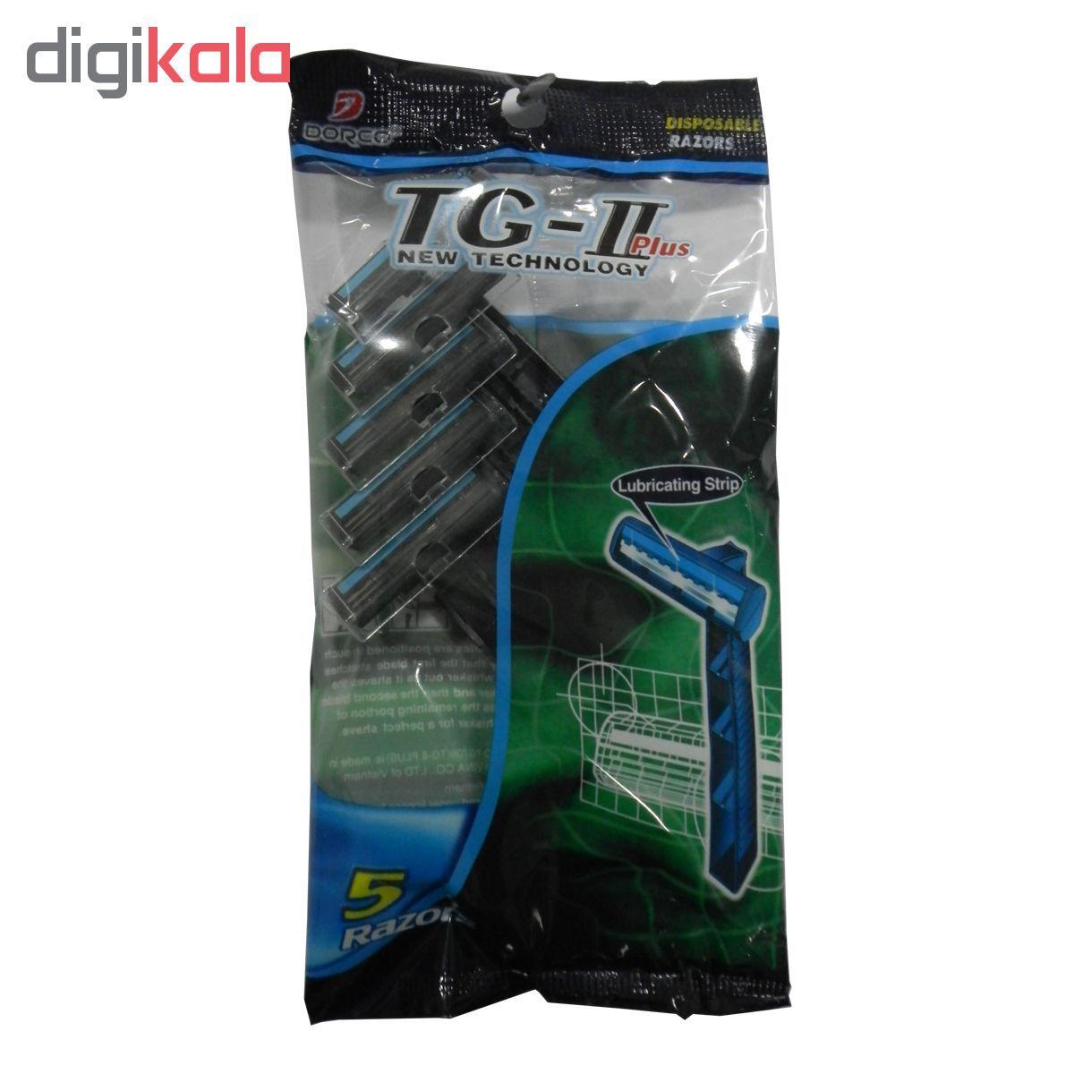 خود تراش مردانه دورکو مدل TG-II Plus بسته 5 عددی main 1 1