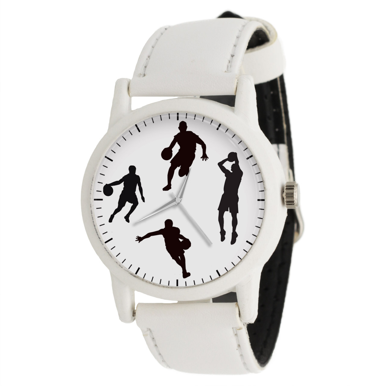 کد تخفیف                                      ساعت مچی عقربه ای مردانه طرح بسکتبال کد LF1577