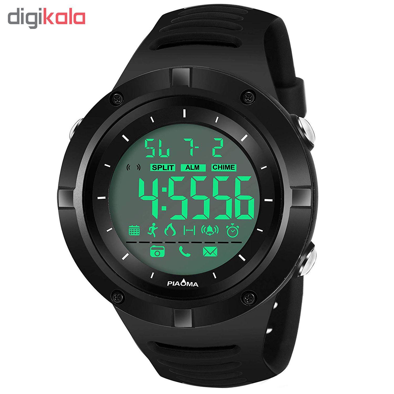 ساعت مچی دیجیتال مردانه پیائوما مدل SN-5161-BB             قیمت