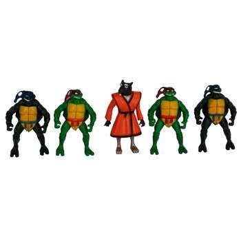 اکشن فیگور طرح لاکپشت های نینجا کد 2628 بسته 5 عددی