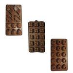 قالب شکلات مدل Lady مجموعه 3 عددی thumb