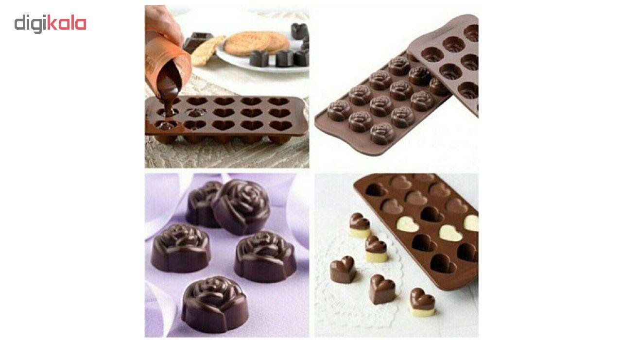 قالب شکلات مدل Lady مجموعه 3 عددی main 1 3