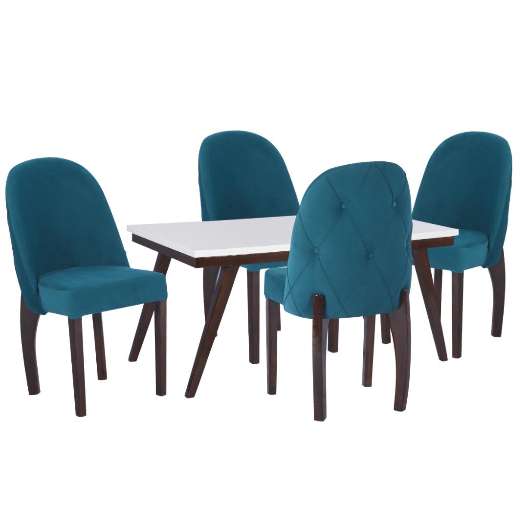 میز و صندلی ناهار خوری  مدل بوگاتی کد 85