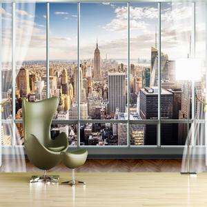 پوستر دیواری سه بعدی طرح پنجره کد 3DFL094