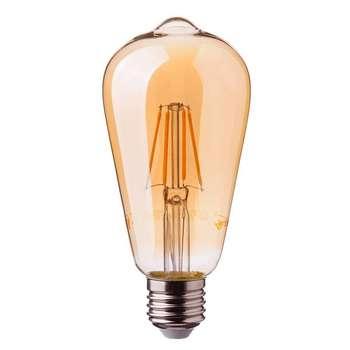 لامپ فیلامنتی 4 وات کد ST64 پایه E27