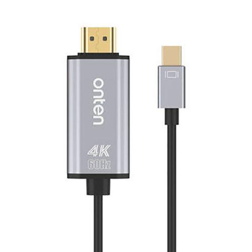 کابل تبدیل Mini Display به HDMI اونتن مدل OTN-5130B طول 1.8متر
