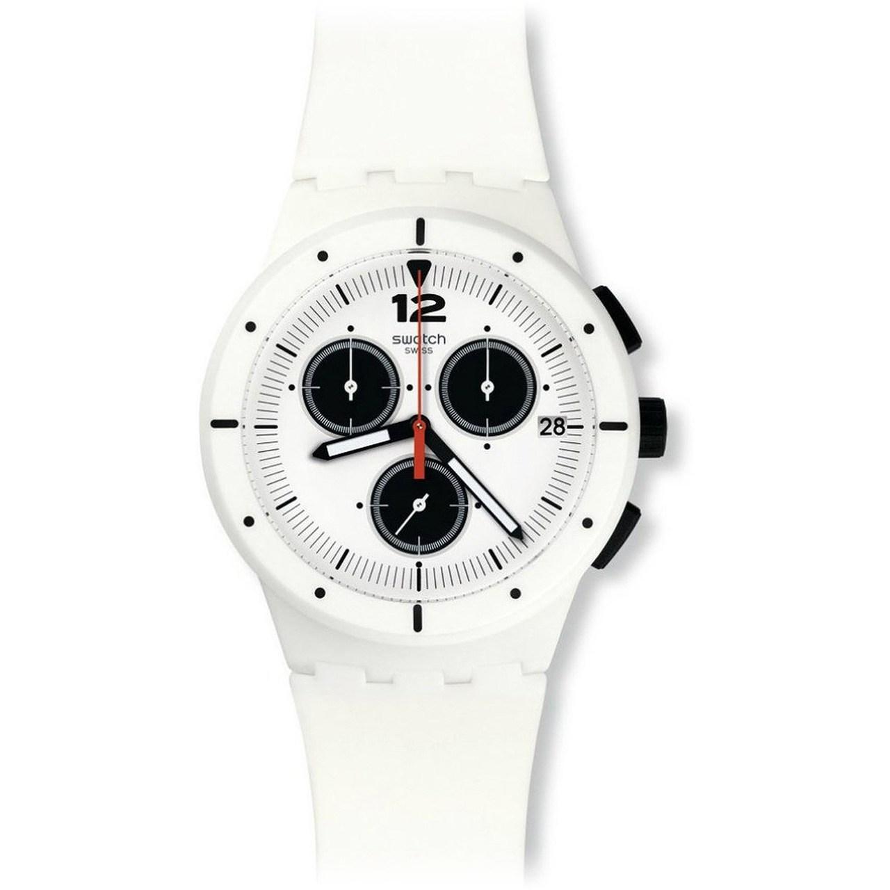ساعت مچی عقربه ای سواچ مدل SUSW406