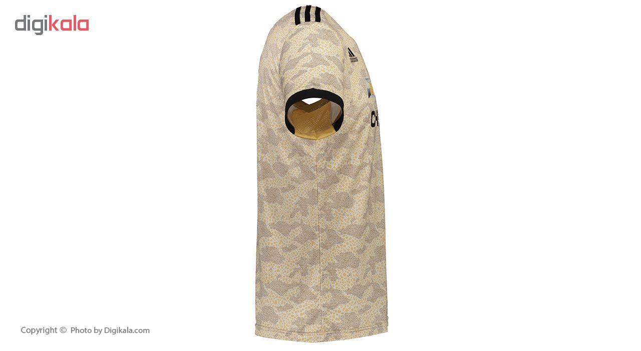 ست پیراهن و شورت ورزشی پسرانه پانیل طرح تیم منچستر یونایتد کد 23076