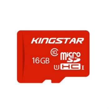 کارت حافظه microSDHC کینگ استار مدل 580X کلاس 10 استاندارد UHS-I U1 سرعت 85MBps ظرفیت 16 گیگابایت