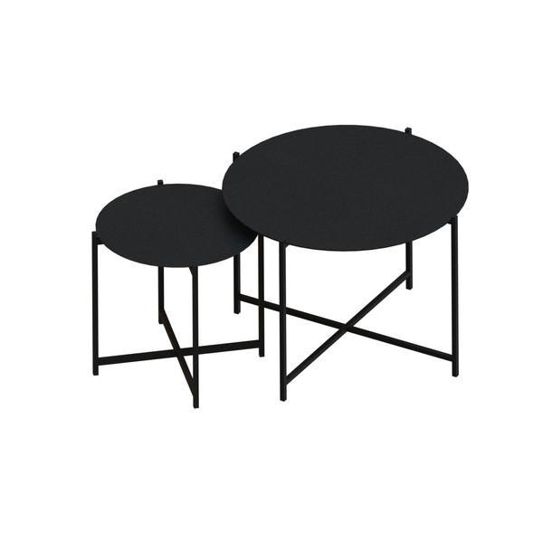 میز عسلی کد 1953 مجموعه 2 عددی