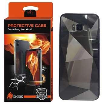 کاور کینگ کونگ طرح الماس مدل Dmnd01 مناسب برای گوشی موبایل سامسونگ Galaxy S8 Plus