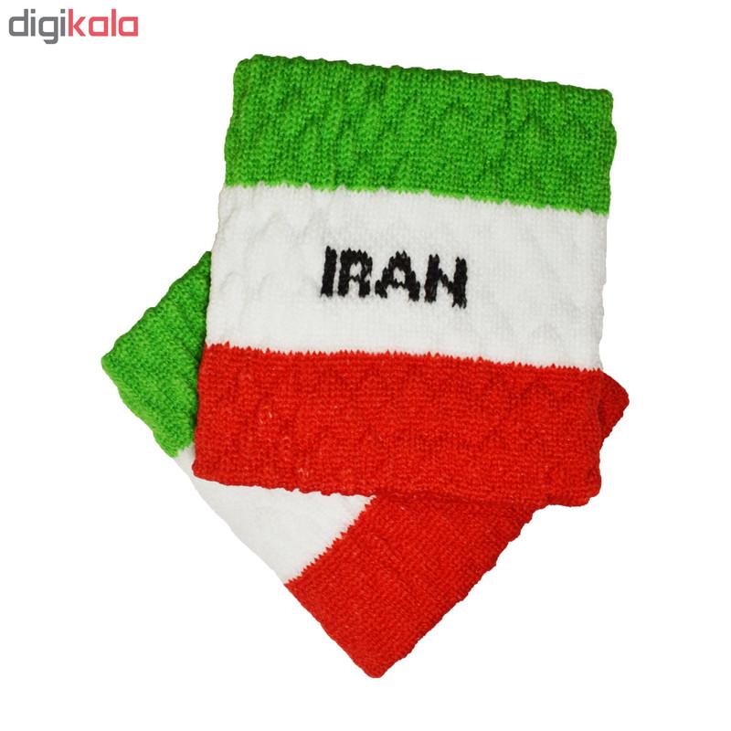 مچ بند ورزشی پرشیکا طرح پرچم کشور ایران بسته 2 عددی