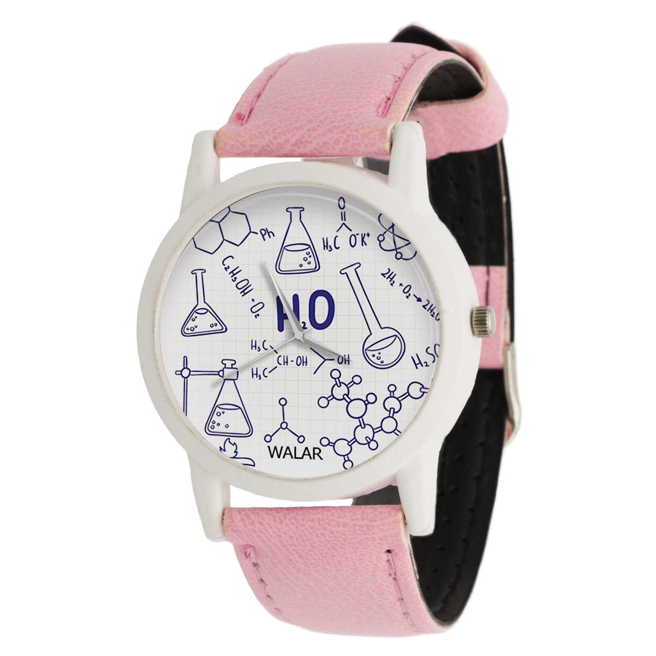 ساعت مچی عقربه ای زنانه والار طرح شیمی کد LF1718