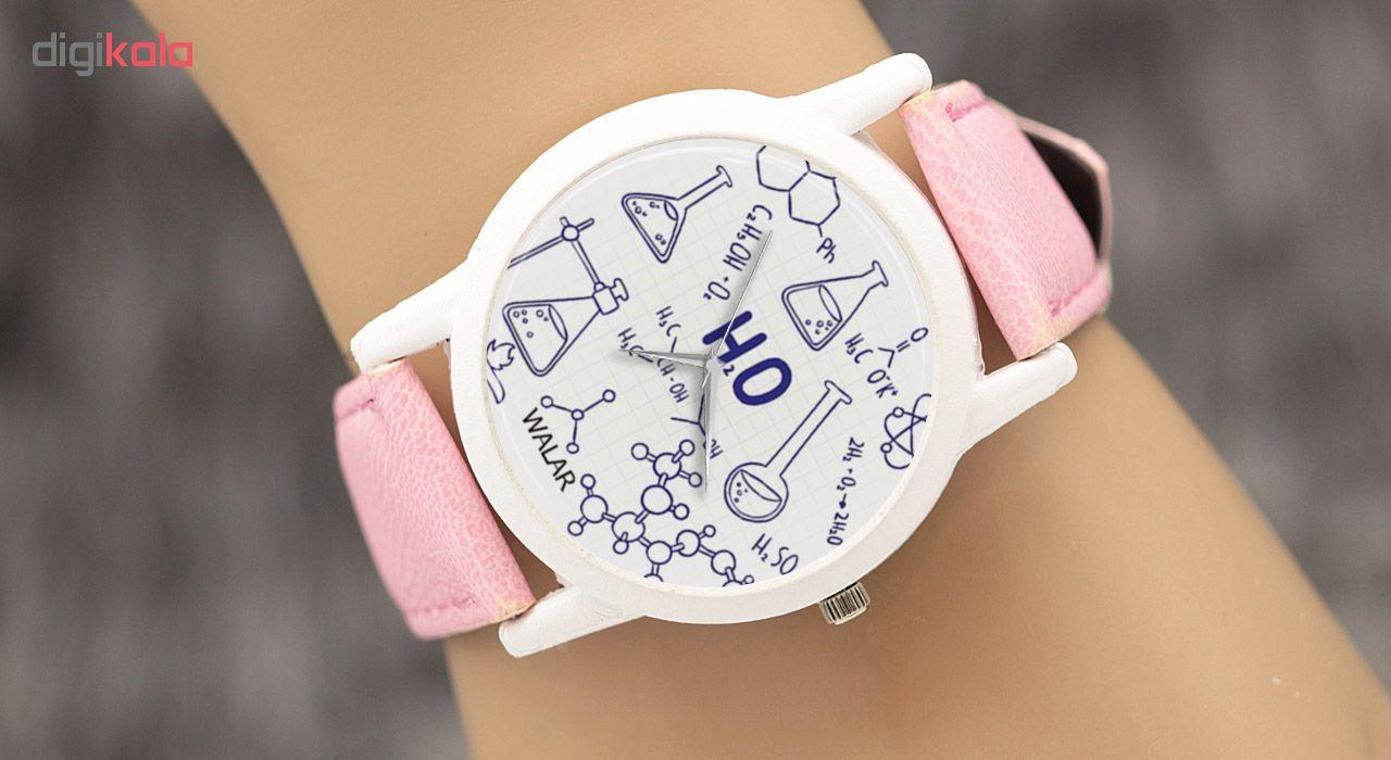 ساعت مچی عقربه ای زنانه والار طرح شیمی کد LF1718              ارزان