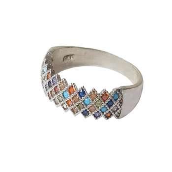 انگشتر نقره زنانه کد 7333