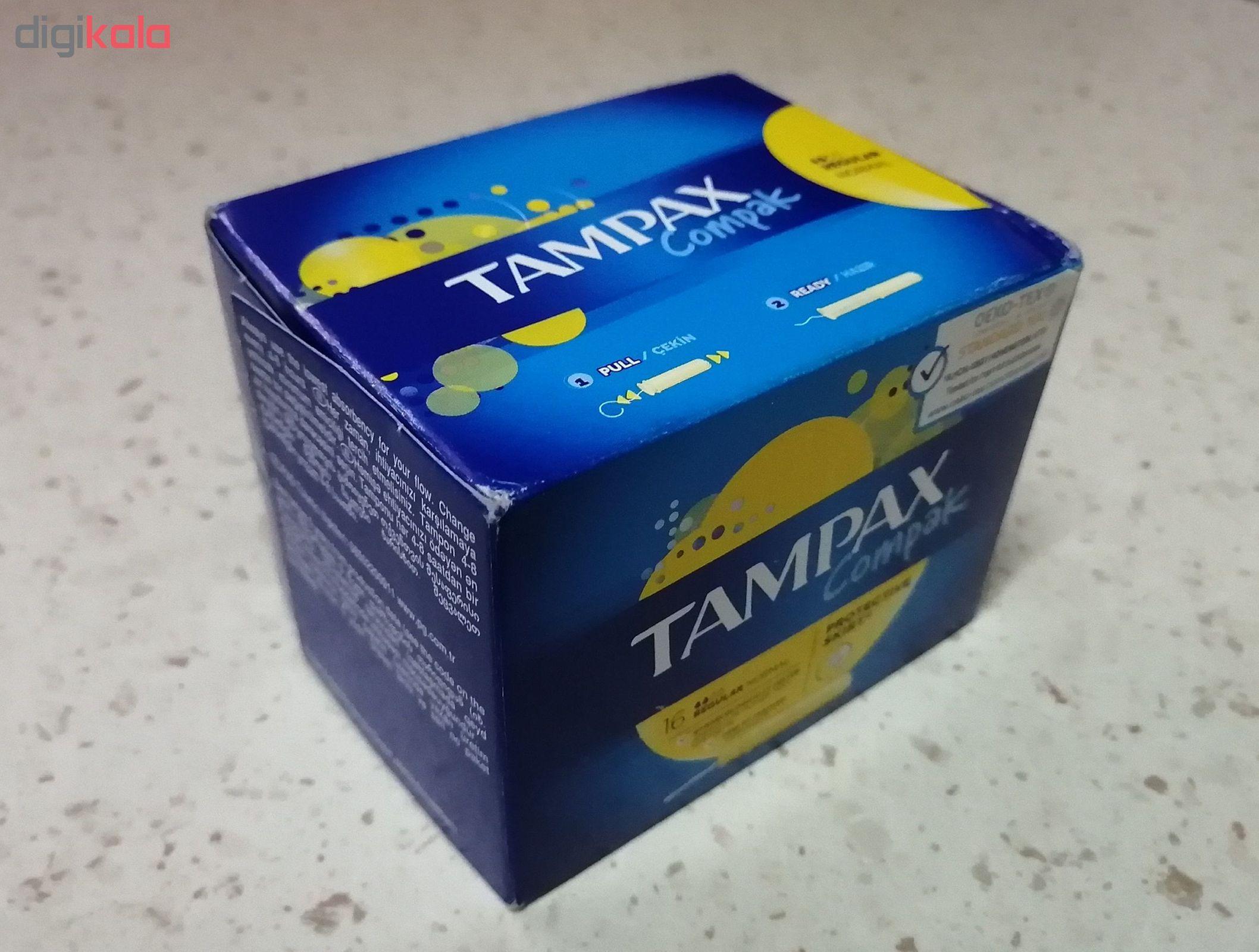 تامپون تامپکس مدل Regular Compak بسته 16 عددی main 1 1