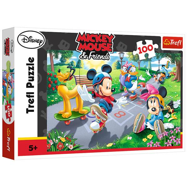 پازل 100 تکه ترفل مدل Mickey Mouse - Friends