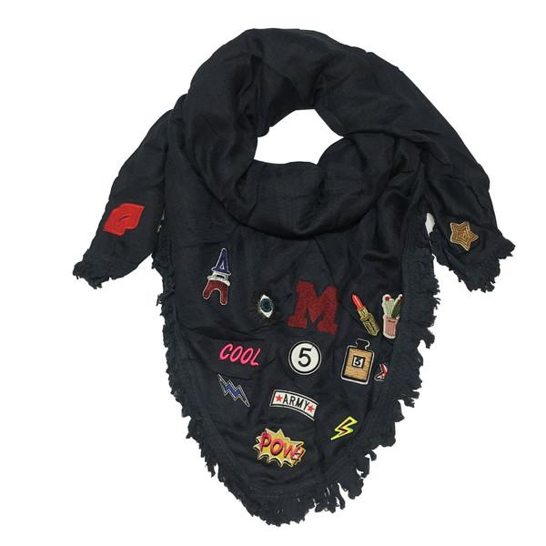 روسری زنانه طرح استیکر