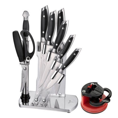 سرویس چاقو آشپزخانه 10 پارچه وینر کد W7335P به همراه چاقو تیزکن