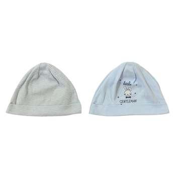 کلاه نوزادی کیابی مدل 005 مجموعه 2 عددی