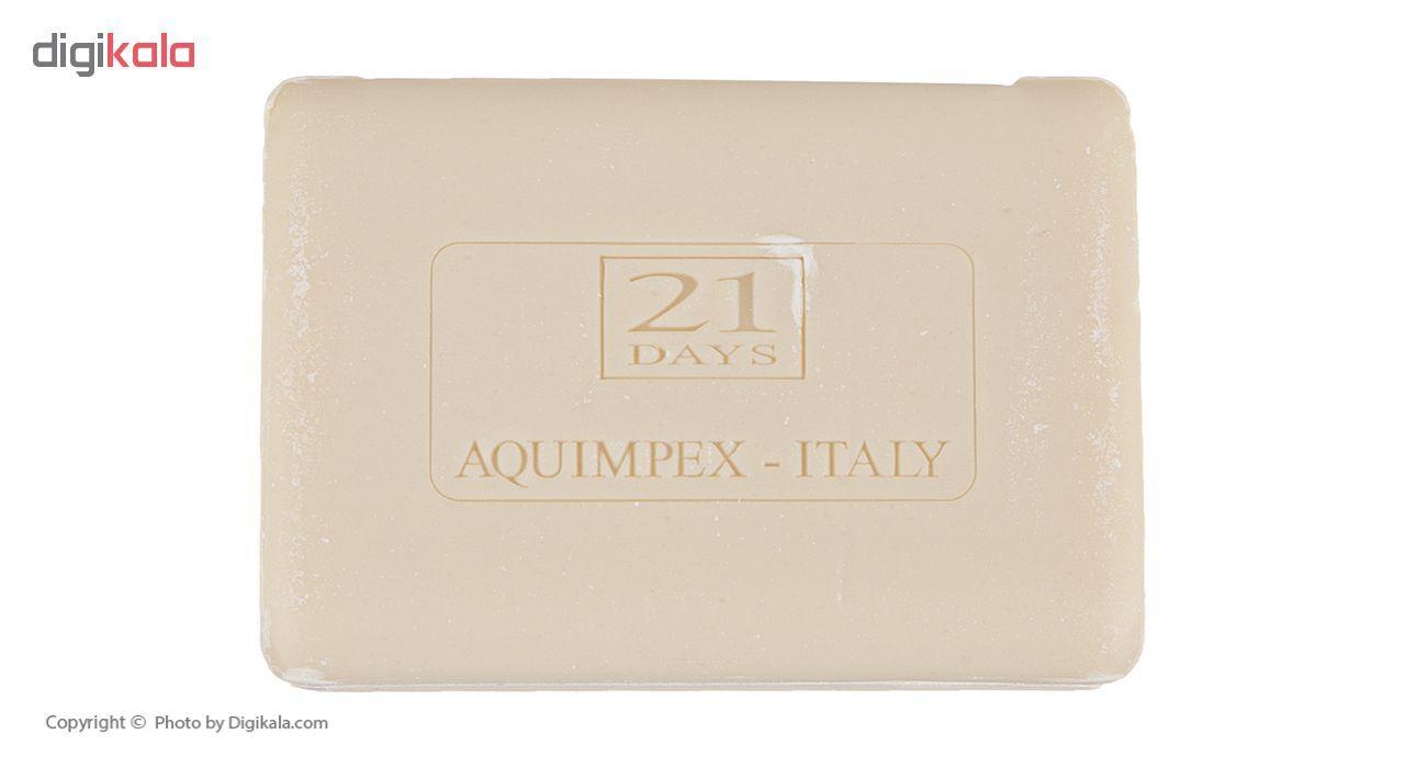 صابون ضد لک 21 روز مدل Aquimpex مقدار 100 گرم main 1 1