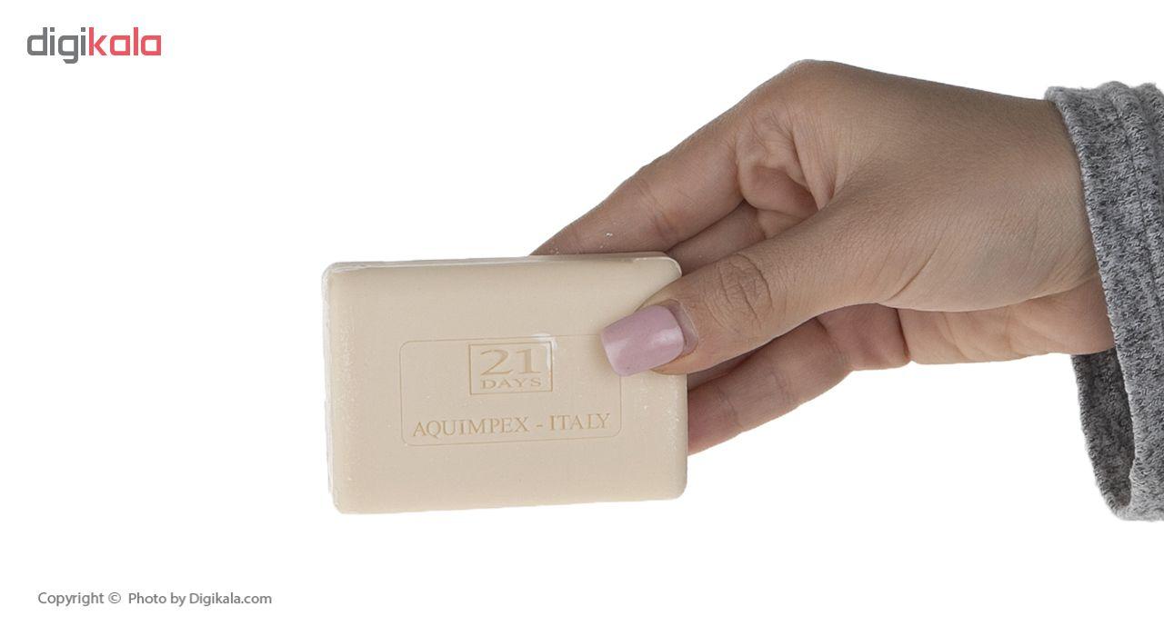صابون ضد لک 21 روز مدل Aquimpex مقدار 100 گرم main 1 4